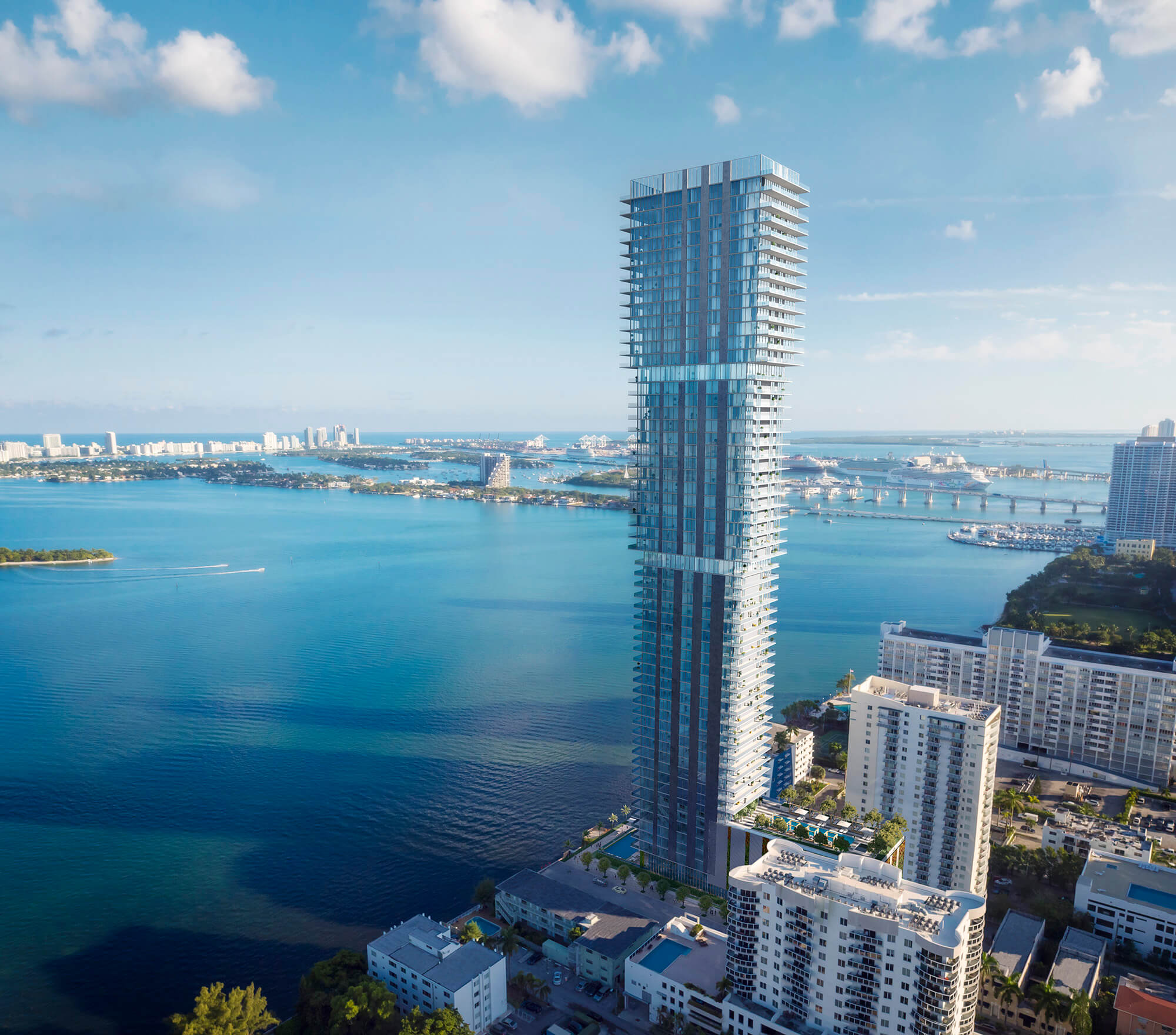 Elysee Miami has a $138 million construction loan from a blue-chip New York Bank