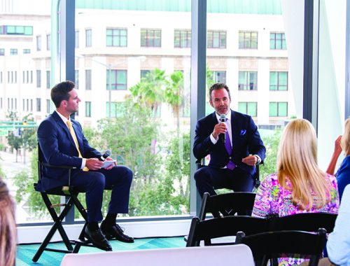 SFBW Associate Publisher Clayton Idle interviews Jay Parker, CEO of Douglas Elliman's Florida brokerage