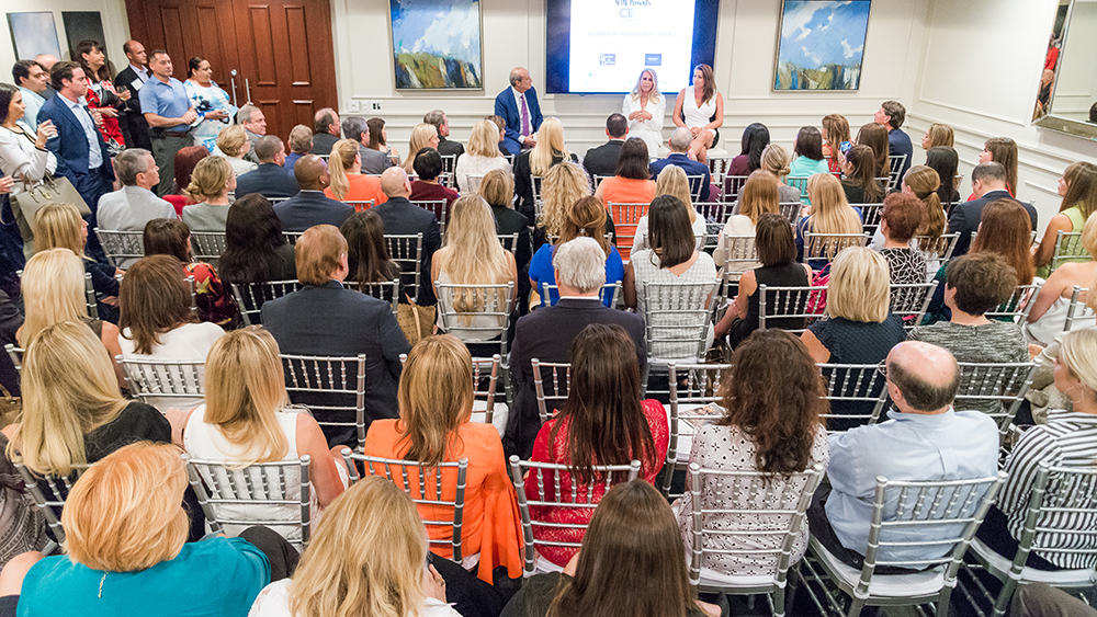"""The third edition of SFBW's """"Women of Influence"""" series drew a large, enthusiastic crowd"""