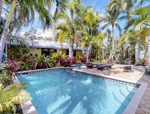 Price Carter's Wilton Manors home, which is known as Palm Haven.