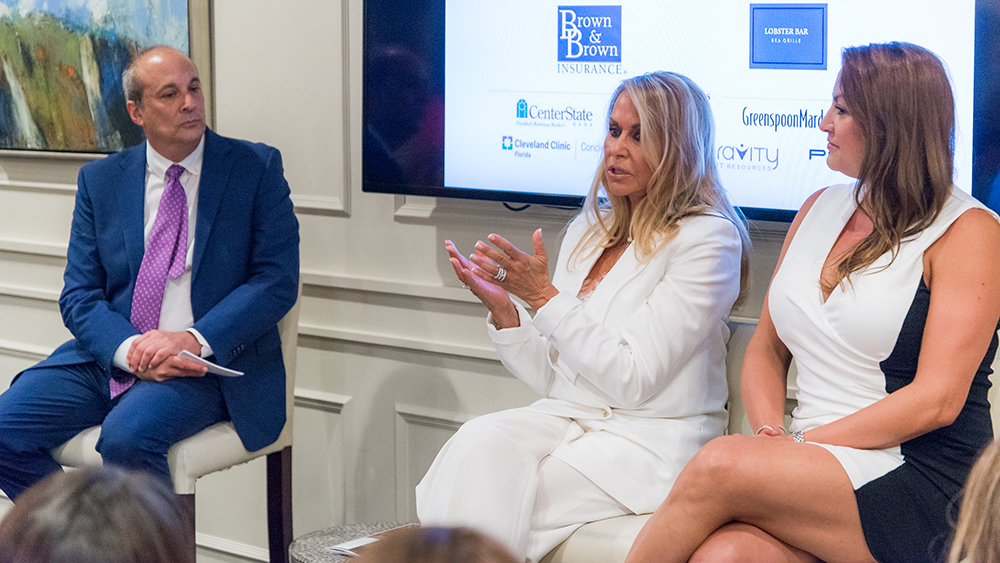 SFBW Chairman and CEO Gary Press interviews the mother-daughter duo Beverly Raphael Altman and Robyn Raphael-Dynan