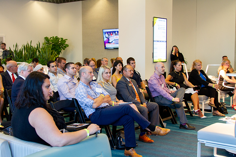 Tech Talk was held at Brightline's MiamiCentral station