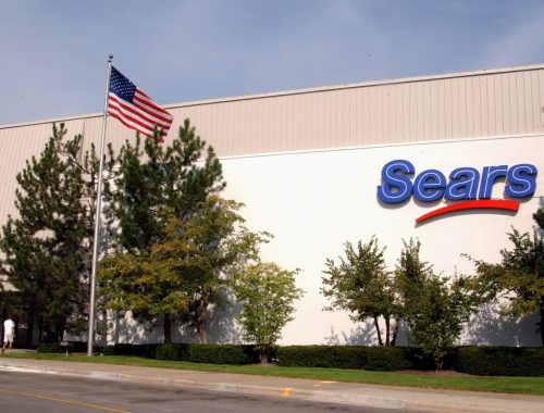 A Sears store in suburban Chicago (courtesy of Sears)