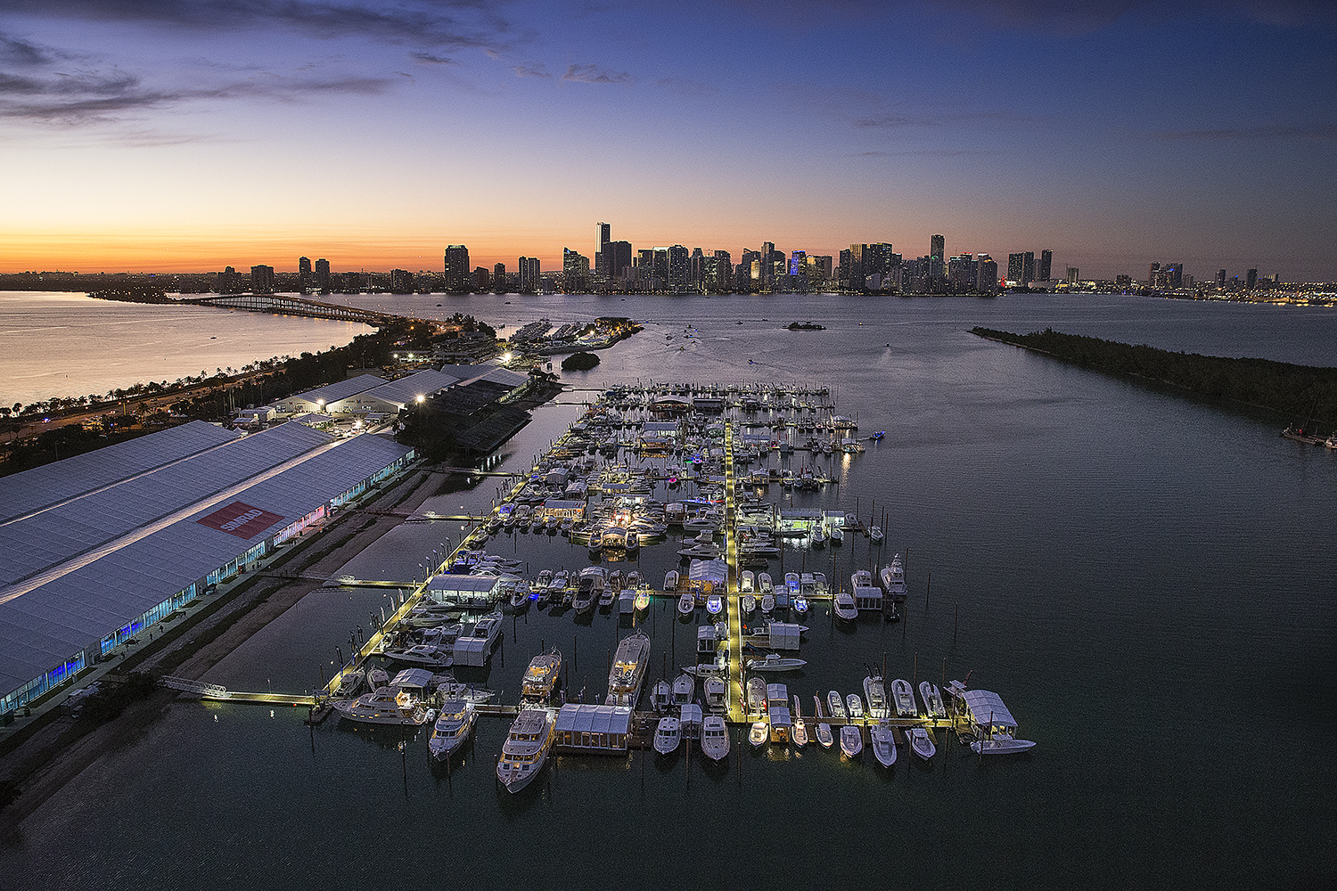 A photo of the 2019 Miami International Boat Show