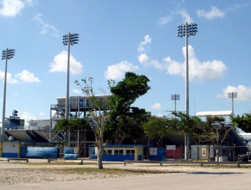 Lockhart Stadium in Fort Lauderdale