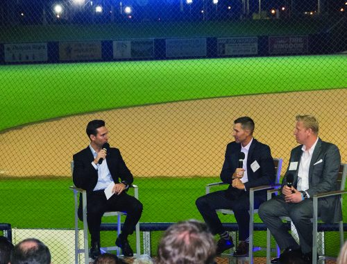 SFBW Associate Publisher Clayton Idle interviewed Brady Ballard and Chris Hummel at the FITTEAM Ballpark of The Palm Beaches