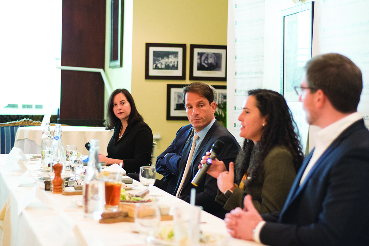 Executive roundtable panelists discuss business outlook and best practices