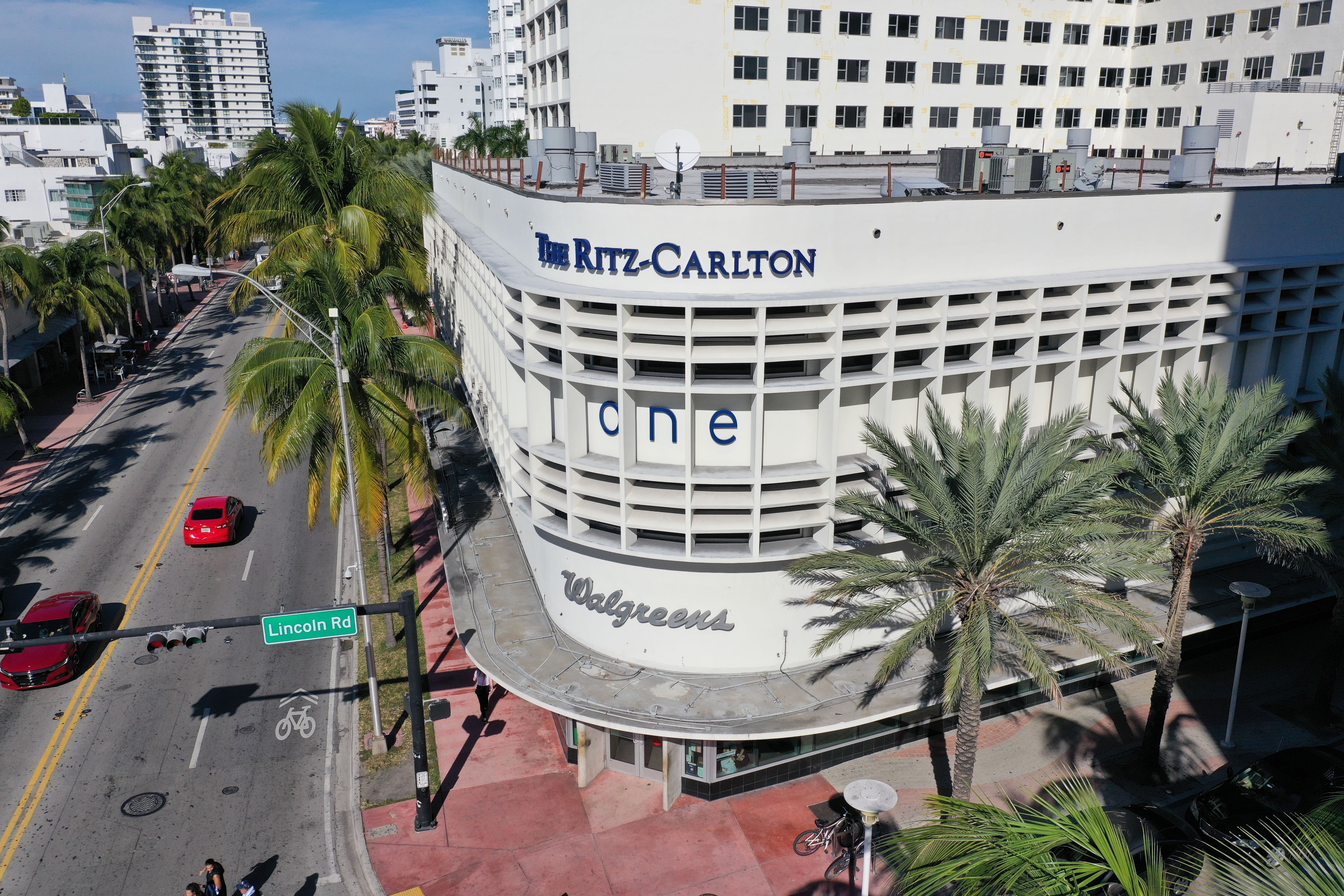 The Walgreens has a prime location at Lincoln Road and Collins Avenue