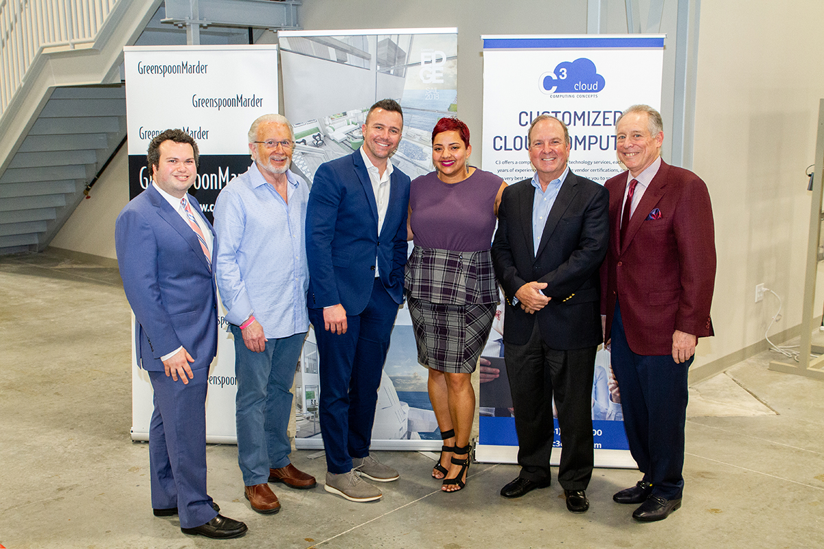 CEO Connect sponsors: Jason Silverman of Greenspoon Marder, Mike Wolfson of 3C, Ryan Boylston of 2Ton, Joyce Lopez of Celebrity Cruises, Gil Polmar of CenterState Bank and Joey Epstein of MBAF