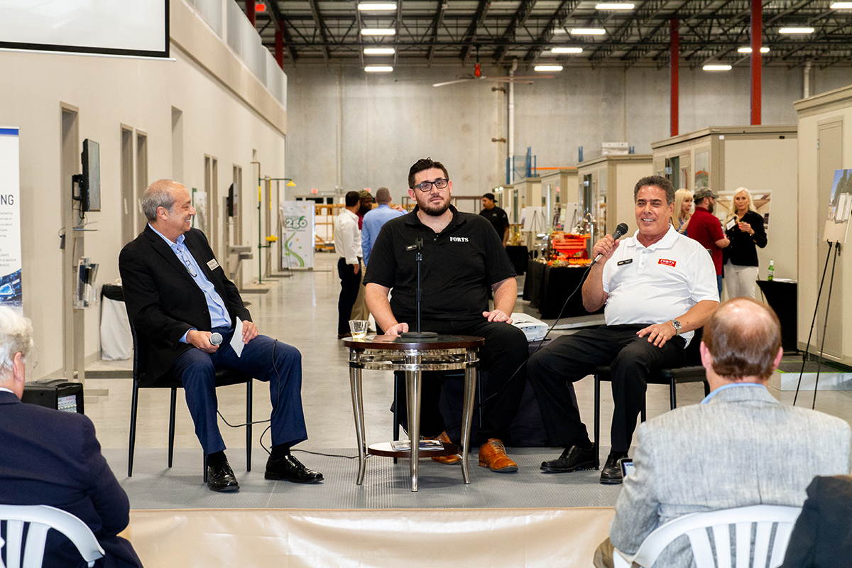 SFBW Chairman and CEO Gary Press interviews FORTS CEO Daniel Rimon and Elite Aluminum Corp. President Peter Zadok