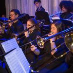 The North Broward Preparatory School Jazz Band performs