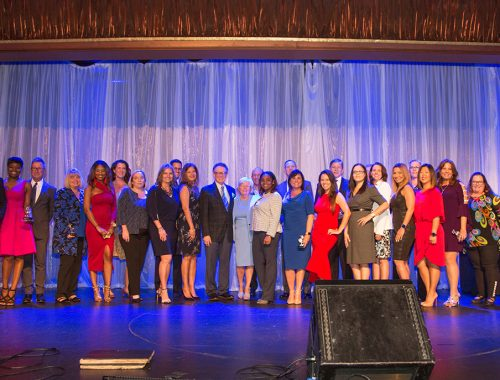 Honorees at the 2019 Excellen in Human Resource Awards presented by StevenDouglas, a search and interim resources firm