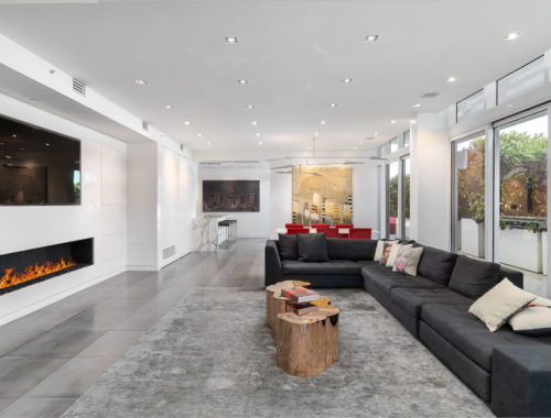 Aurelio lives with his family in Loft 6 at the Continuum in South Beach, a resort-style waterfront development.
