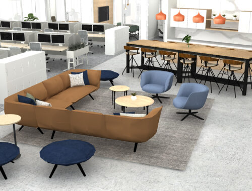 Sales Lounge office