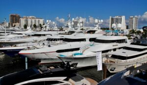 boat show yachts